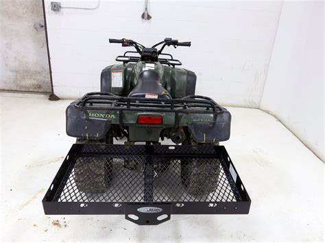 Carrier The Banchee 50 20x36 cargo carrier for 2 quot trailer hitches designed for atv s tow ready hitch cargo carrier