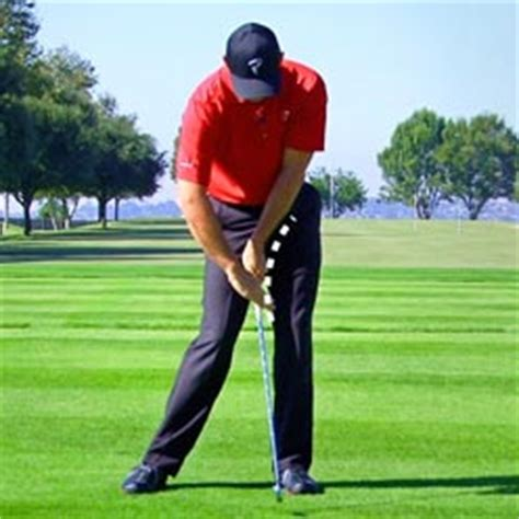 scooping golf swing swing characteristics tpi