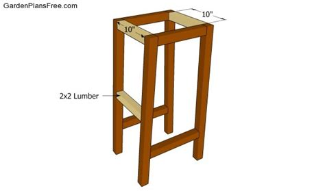 Free Bar Stool Plans by Bar Stool Plans Free Free Garden Plans How To Build