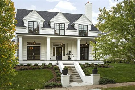 modern colonial marvin integrity for a transitional exterior with a porch