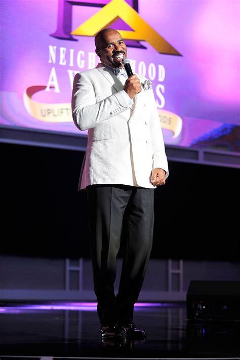 steve harvey walks atlanta radio host down the aisle star studded lineup headlines 2015 neighborhood awards