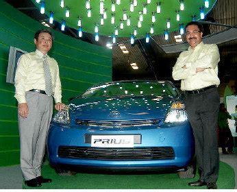 Proton Technologies Bangalore Toyota Showcases Prius At 18th International Engineering