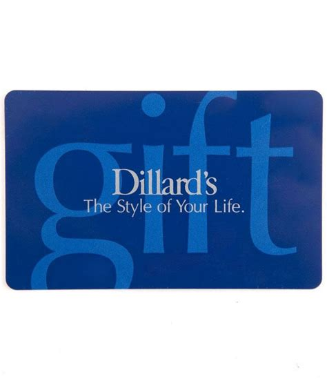 the style of your life everyday gift card dillards - Life Gift Cards