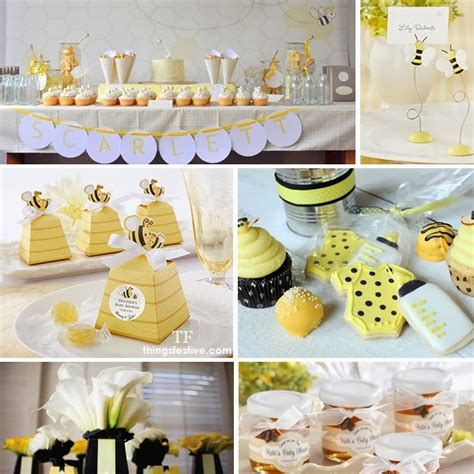 Bee Baby Shower Ideas by Bee Baby Shower Theme For The To Bee Pinnutty
