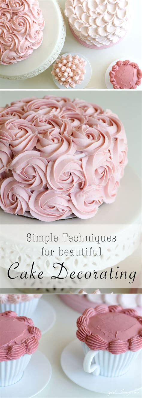 learn cake decorating at home simple and stunning cake decorating techniques girl