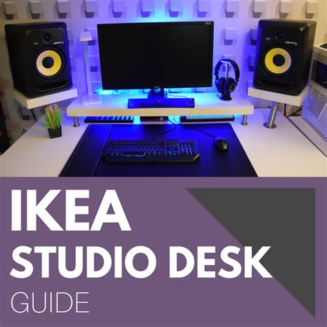 Ikea Studio Desk Guide Pro Music Producers Home Recording Studio Desk Ikea