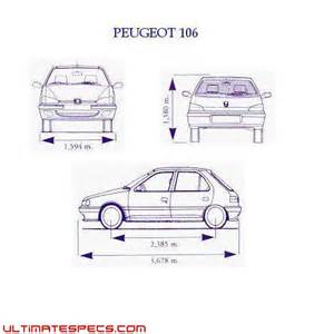 Peugeot 106 Dimensions Index Of Carblueprints 8