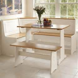 Corner Bench Dining Room Table by White Kitchen Dining Room Wood Corner Breakfast Nook Table