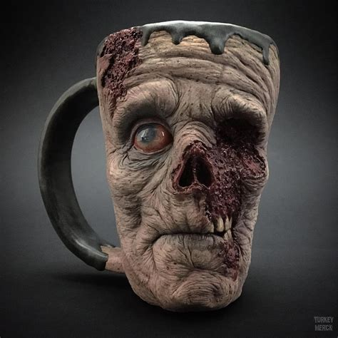 Zombies Zombies Zombies secure your coffee with a scary mug