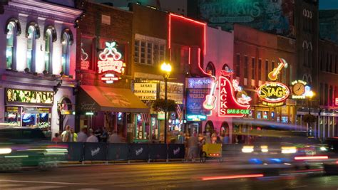 the lights of nashville tn nashville august 13 and vehicular traffic travel