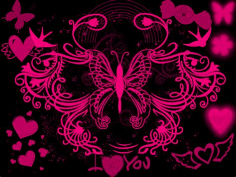 themes black and pink black white and pink backgrounds 24 desktop wallpaper