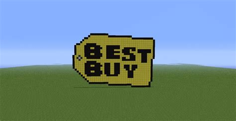 buy and bid big best buy logo minecraft project