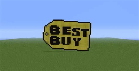buy bid big best buy logo minecraft project