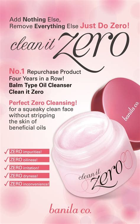 Banila Co Clean It Zero Cleansing Resveratrol 100ml banila co clean it zero makeup cleanser seoul next by you