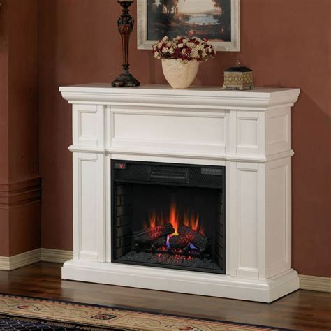 classicflame artesian infrared electric fireplace mantel