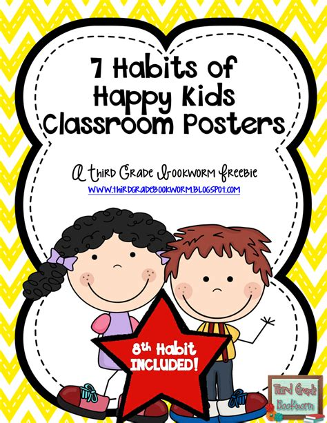 Pdf 7 Habits Happy by 7 Habits Of Happy Third Grade Bookworm