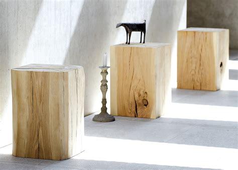 Rondin De Bois Table De Chevet by Table Tronc De Bois En Ch 234 Ne Tr 232 S Tendance Chez Ksl Living