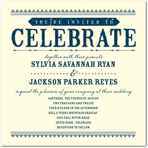 celebrate it wedding invitations letterpress wedding invitations come celebrate