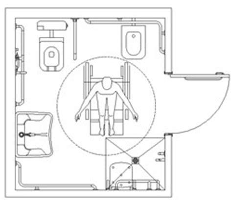 archweb bagno disabili bagni per diversamente abili accessibilit 224 dwg