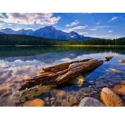 Clean Free Canadian Wilderness – Nature Lakes HD Desktop Wallpaper