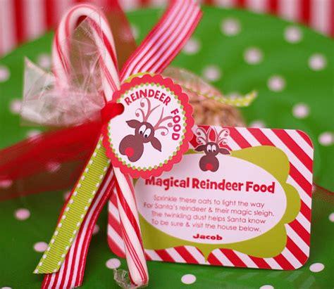 printable reindeer food labels free reindeer food tag printables christmas ideas