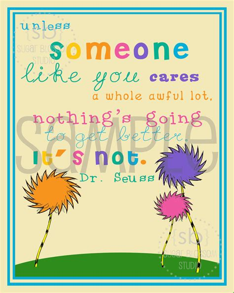 printable lorax quotes etsy your place to buy and sell all things handmade