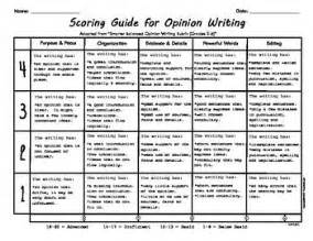 Opinion Essay Rubric 6th Grade user friendly opinion writing rubric school language arts opinion