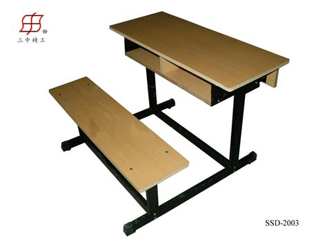 school bench size double seater wooden iron frame school desk bench buy double student desk and chair