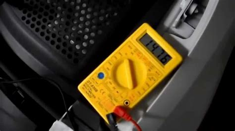 Motorrad Batterie Messen Mit Multimeter by Batterie Drehstromgenerator Lichtmaschine Pr 252 Fen