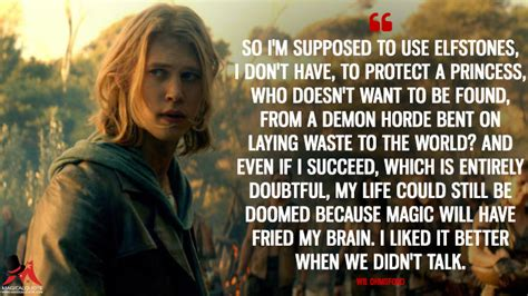 Copenhagen The Who Didnt Want To Be Princess Anymore by The Shannara Chronicles Quotes Magicalquote