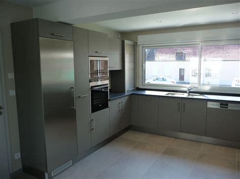 cuisine gris clair et blanc revger com cuisine sol gris clair id 233 e inspirante pour