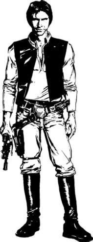 star wars han solo coloring page han solo star wars database