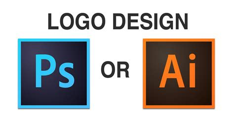 design logo software logo design photoshop or illustrator youtube