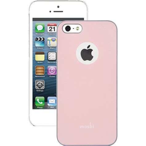 moshi iglaze for iphone 5 5s se chagne pink 99mo061301
