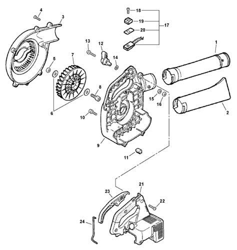 stihl leaf blower parts diagram echo leaf blower engine diagram get free image about