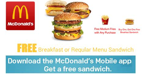 free printable grocery coupons for mac computers coupons and freebies download mcdonald s app for free