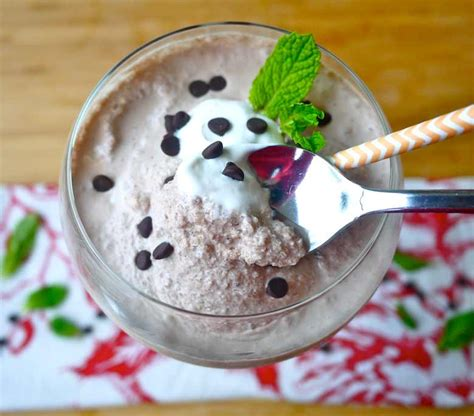 frozen mint hot chocolate recipe minty paleo frozen hot chocolate gf dairy free