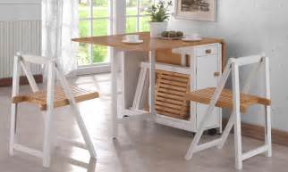 Folding Dining Room Table Space Saver by Space Saver Dining Set To Create Accessible Dining Space