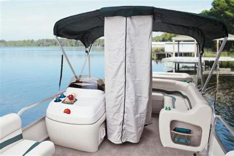 pontoon boat privacy curtain 2011 sun tracker party barge 20 classic series boats
