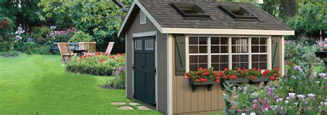 Backyard Buildings Storage Sheds