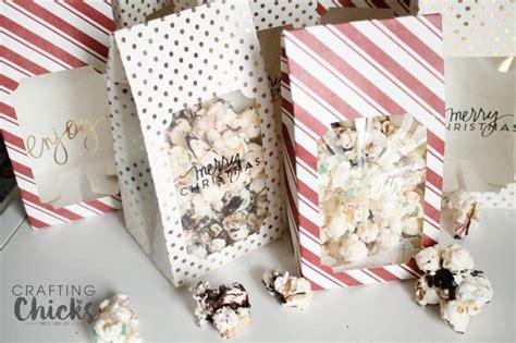 popcorn gift ideas for peppermint popcorn