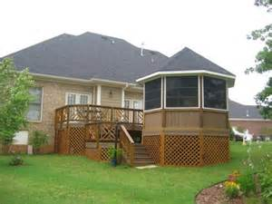Waterproof Gazebo For Decking by Multilevel Deck Designs Home To Yard Transitions Unfold