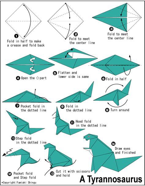 membuat berbagai origami sketsa