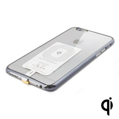 qi compatible iphone 6 wireless charging adapter