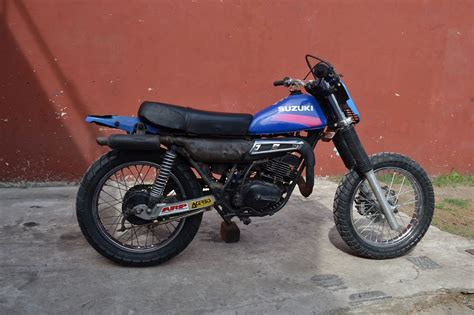 Suzuki Ts 125 1978 suzuki ts 125 pics specs and information onlymotorbikes