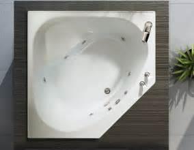 bain tandem 4 1 2 pour installation en coin bains