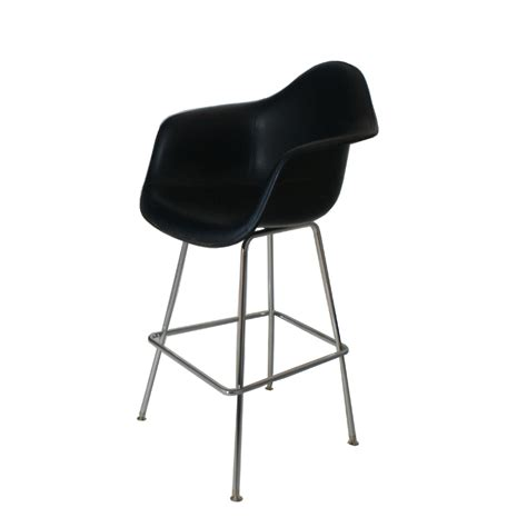 herman miller bar stools herman miller eames fiberglass bar stool with h base ebay