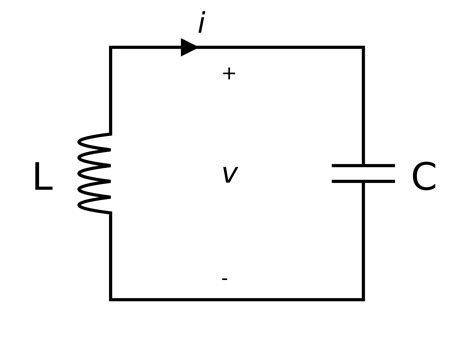 simple inductor circuit lc circuit