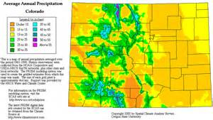 weather colorado map colorado precipitation map