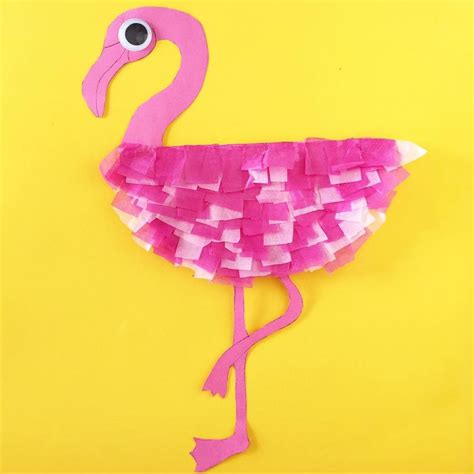 25 Best Ideas About Flamingo Craft On Crafts